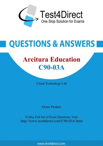 C90-03A Exam BrainDumps are Out - Download and Prepare