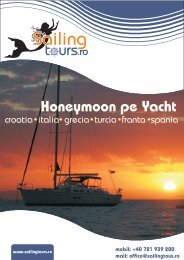mobil: +40 721 939 200 mail - Sailing tours
