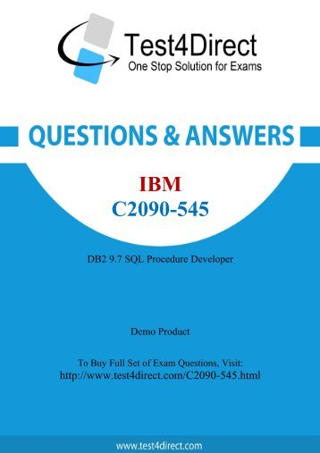 C2090-545 Latest Exam BrainDumps