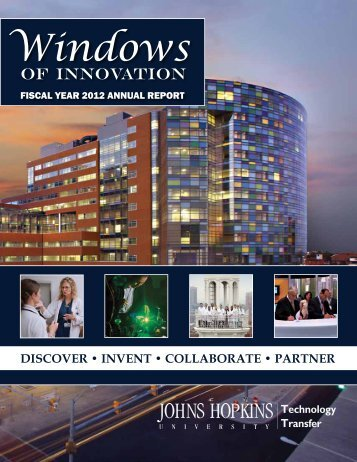 fy 2012 at-a-glance - Johns Hopkins Technology Transfer - Johns ...