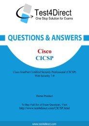 Up-to-Date CICSP Exam BrainDumps