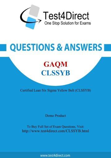Pass CLSSYB Exam Easily with BrainDumps