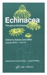 Echinacea: The genus Echinacea