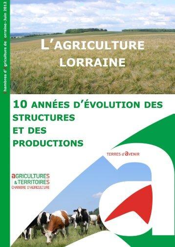T l chargez le m mento chiffres cl s 2012 chambre d - Chambre d agriculture 54 ...