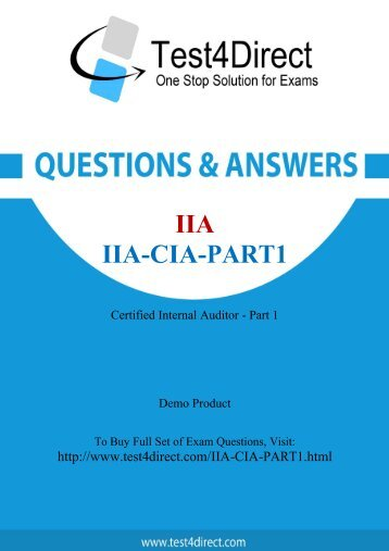 IIA-CIA-Part1-demo