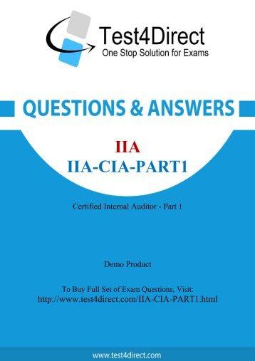 IIA-CIA-Part1-demo