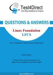 Up-to-Date LFCS Exam BrainDumps