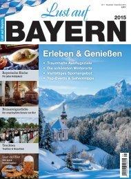 Lust auf Bayern 2015