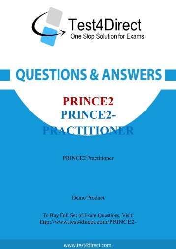 PRINCE2-Practitioner BrainDumps