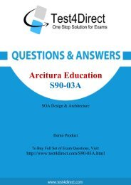 Pass S90-03A Exam Easily with BrainDumps