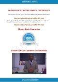 Here you get free UM0-411 Exam BrainDumps - Page 5