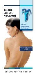 HESCURO Rücken-Gelenk-Programm