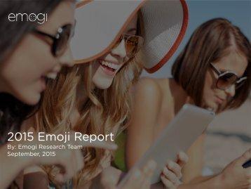 2015 Emoji Report