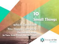 10 Small Things which can Make You Happy Everyday