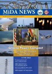 MiDA News - maiden edition