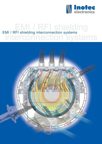 EMI/RFI shielding interconnection systems