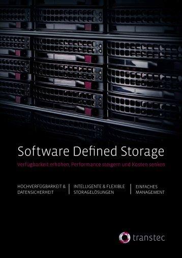 Software Defined Storage - TD