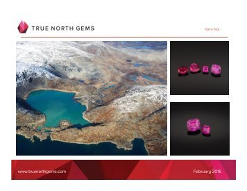 www.truenorthgems.com February 2016