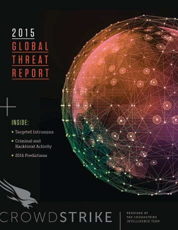 2015 GLOBAL THREAT REPORT