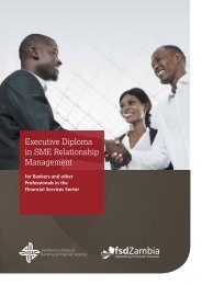 Executive Diploma in SME Relationship Management
