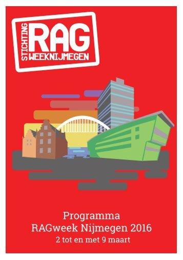 Programma RAGweek Nijmegen 2016