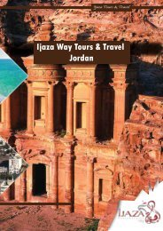 IJAZA WAY TOURS & TRAVEL - JORDAN