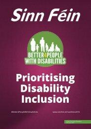 Prioritising Disability Inclusion