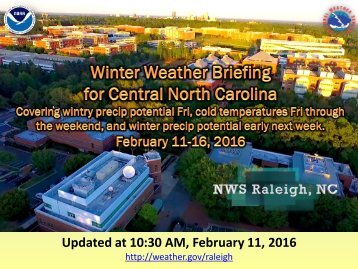 Updated at 10:30 AM February 11 2016