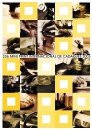 2003 CADAQUES MINI PRINT INTERNATIONAL