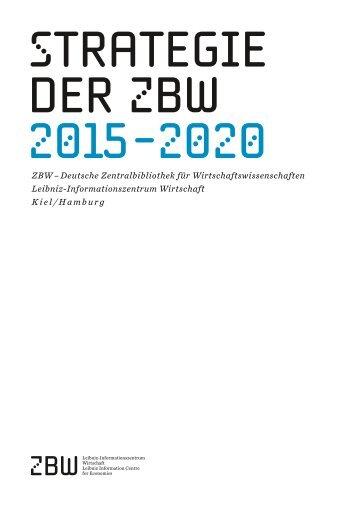 strategie der zbw 2015-2020