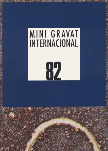 1982 CADAQUES MINI PRINT INTERNATIONAL