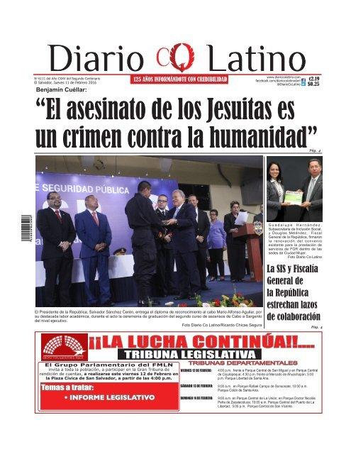 Edición impresa 11 de noviembre de 2014