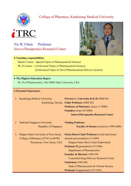 pharmacy topics for research