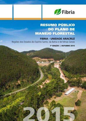 RESUMO PÚBLICO DO PLANO DE MANEJO FLORESTAL