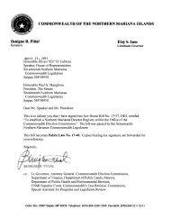 Northern Marianas Descent Registry Establishment Law - VoteCNMI