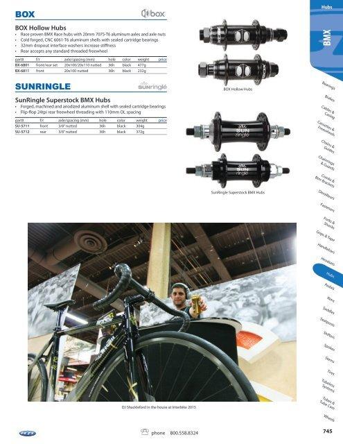 New Wheel Tech Downhill Front Hub Disc Brake 6 Bolts 20x110mm TA 32h 182g Black