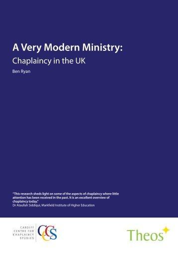 A Very Modern Ministry