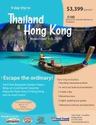 Thailand Hong Kong