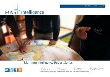 Maritime Intelligence Report Series