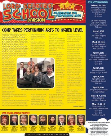 Comp takes Performing Arts to higher level