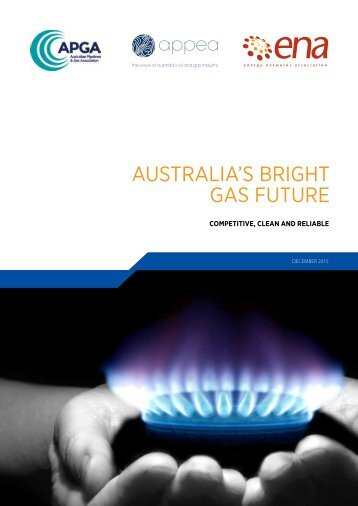 AUSTRALIA'S BRIGHT GAS FUTURE