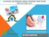 Illinois Governor Signs Reverse Mortgage Protection Act - Z Reverse Mortgage