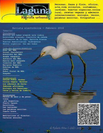 Laguna, revista urbana - Febrero 2016 -