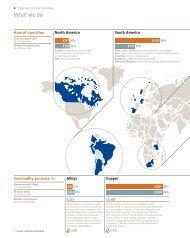 Area of operation (PDF) - Xstrata