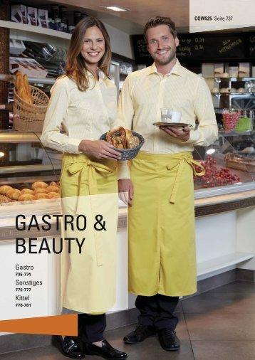 Textilien für Gastro und Beauty