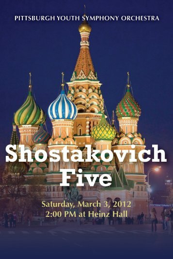 Shostakovich Five - Pittsburgh Youth Symphony Orchestra