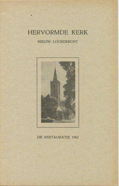 restauratie Sijpekerk 1962