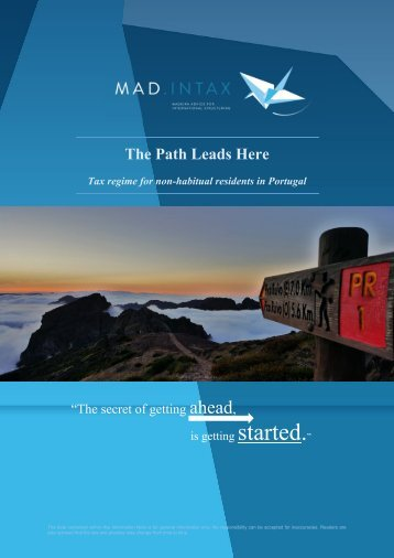 MadIntax Newsletter- Tax regime for non-habitual residents