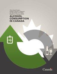 ALCOHOL CONSUMPTION IN CANADA
