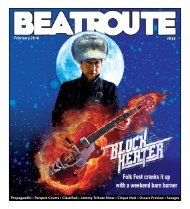 BeatRoute Magazine Alberta print e-edition - Feb. 2016